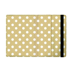 Mint Polka And White Polka Dots Ipad Mini 2 Flip Cases by creativemom