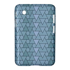 Geo Fun 7 Light Blue Samsung Galaxy Tab 2 (7 ) P3100 Hardshell Case  by MoreColorsinLife