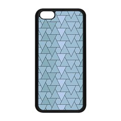 Geo Fun 7 Light Blue Apple Iphone 5c Seamless Case (black) by MoreColorsinLife