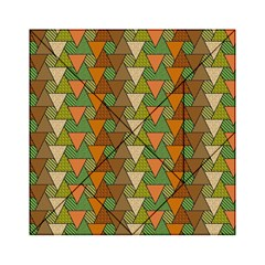 Geo Fun 7 Warm Autumn  Acrylic Tangram Puzzle (6  X 6 ) by MoreColorsinLife