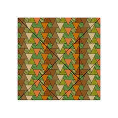 Geo Fun 7 Warm Autumn  Acrylic Tangram Puzzle (4  X 4 ) by MoreColorsinLife