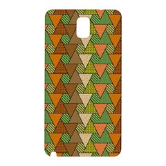 Geo Fun 7 Warm Autumn  Samsung Galaxy Note 3 N9005 Hardshell Back Case by MoreColorsinLife