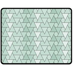 Geo Fun 7 Fleece Blanket (medium)  by MoreColorsinLife