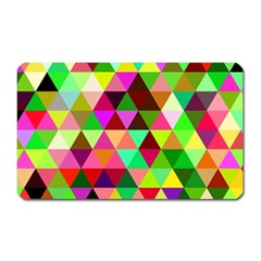 Geo Fun 07 Magnet (rectangular) by MoreColorsinLife
