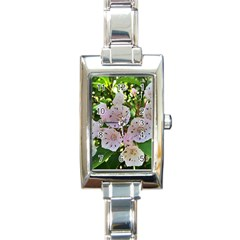Amazing Garden Flowers 35 Rectangle Italian Charm Watches