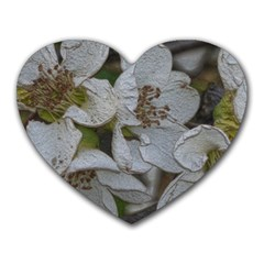 Amazing Garden Flowers 32 Heart Mousepads by MoreColorsinLife