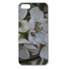 Amazing Garden Flowers 32 Apple Seamless Iphone 5 Case (clear) by MoreColorsinLife