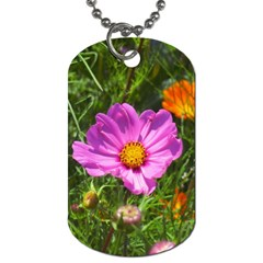 Amazing Garden Flowers 24 Dog Tag (two Sides) by MoreColorsinLife