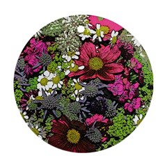 Amazing Garden Flowers 21 Ornament (round)