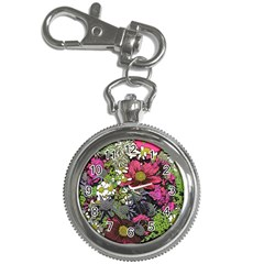 Amazing Garden Flowers 21 Key Chain Watches