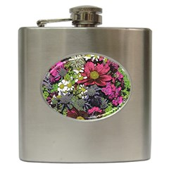 Amazing Garden Flowers 21 Hip Flask (6 Oz) by MoreColorsinLife
