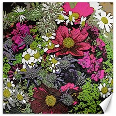 Amazing Garden Flowers 21 Canvas 12  X 12