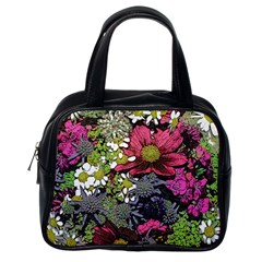 Amazing Garden Flowers 21 Classic Handbags (one Side) by MoreColorsinLife
