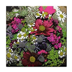 Amazing Garden Flowers 21 Face Towel