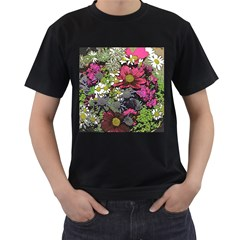 Amazing Garden Flowers 21 Men s T-shirt (black)