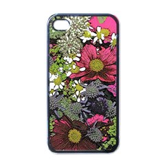 Amazing Garden Flowers 21 Apple Iphone 4 Case (black)