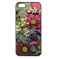 Amazing Garden Flowers 21 Apple Iphone 5 Seamless Case (black)