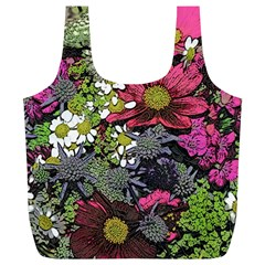 Amazing Garden Flowers 21 Full Print Recycle Bags (l)