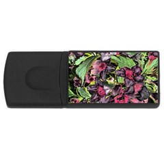Amazing Garden Flowers 33 Usb Flash Drive Rectangular (4 Gb)