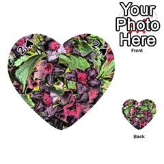 Amazing Garden Flowers 33 Playing Cards 54 (heart)