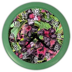 Amazing Garden Flowers 33 Color Wall Clocks