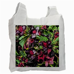 Amazing Garden Flowers 33 Recycle Bag (one Side)