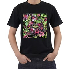 Amazing Garden Flowers 33 Men s T Shirt (black)