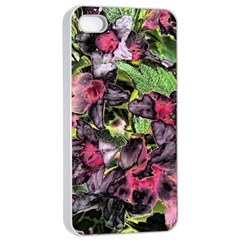 Amazing Garden Flowers 33 Apple Iphone 4/4s Seamless Case (white)