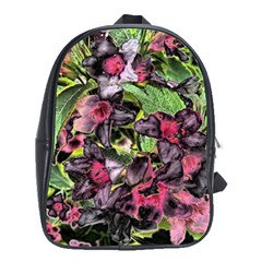 Amazing Garden Flowers 33 School Bags (xl)