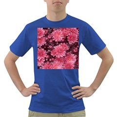 Awesome Flowers Red Dark T Shirt
