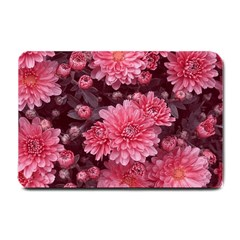 Awesome Flowers Red Small Doormat