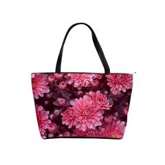 Awesome Flowers Red Shoulder Handbags by MoreColorsinLife