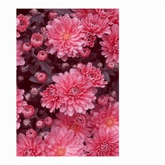 Awesome Flowers Red Small Garden Flag (two Sides) by MoreColorsinLife