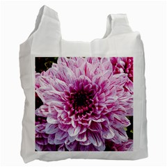 Wonderful Flowers Recycle Bag (one Side)