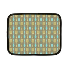 Spatula Spoon Pattern Netbook Case (small)  by creativemom