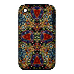 Magnificent Kaleido Design Apple Iphone 3g/3gs Hardshell Case (pc+silicone)