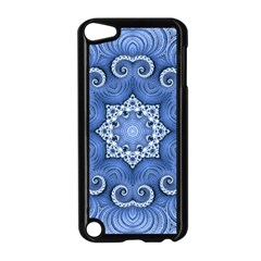 Awesome Kaleido 07 Blue Apple Ipod Touch 5 Case (black)