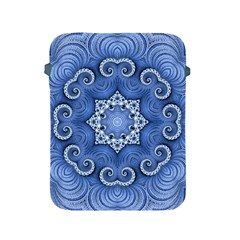 Awesome Kaleido 07 Blue Apple Ipad 2/3/4 Protective Soft Cases by MoreColorsinLife