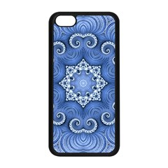 Awesome Kaleido 07 Blue Apple Iphone 5c Seamless Case (black)