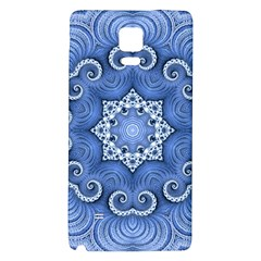 Awesome Kaleido 07 Blue Galaxy Note 4 Back Case by MoreColorsinLife