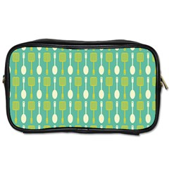 Spatula Spoon Pattern Toiletries Bags by creativemom