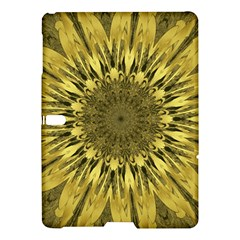 Kaleido Flower,golden Samsung Galaxy Tab S (10 5 ) Hardshell Case  by MoreColorsinLife