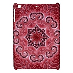 Awesome Kaleido 07 Red Apple Ipad Mini Hardshell Case by MoreColorsinLife
