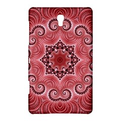 Awesome Kaleido 07 Red Samsung Galaxy Tab S (8 4 ) Hardshell Case  by MoreColorsinLife