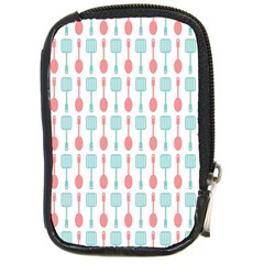 Spatula Spoon Pattern Compact Camera Cases by creativemom