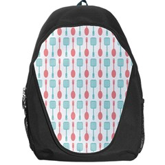 Spatula Spoon Pattern Backpack Bag by creativemom