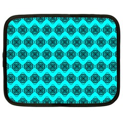 Abstract Knot Geometric Tile Pattern Netbook Case (xxl)  by creativemom
