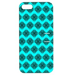 Abstract Knot Geometric Tile Pattern Apple Iphone 5 Hardshell Case With Stand by creativemom