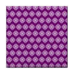 Abstract Knot Geometric Tile Pattern Tile Coasters by creativemom