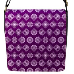 Abstract Knot Geometric Tile Pattern Flap Messenger Bag (s) by creativemom